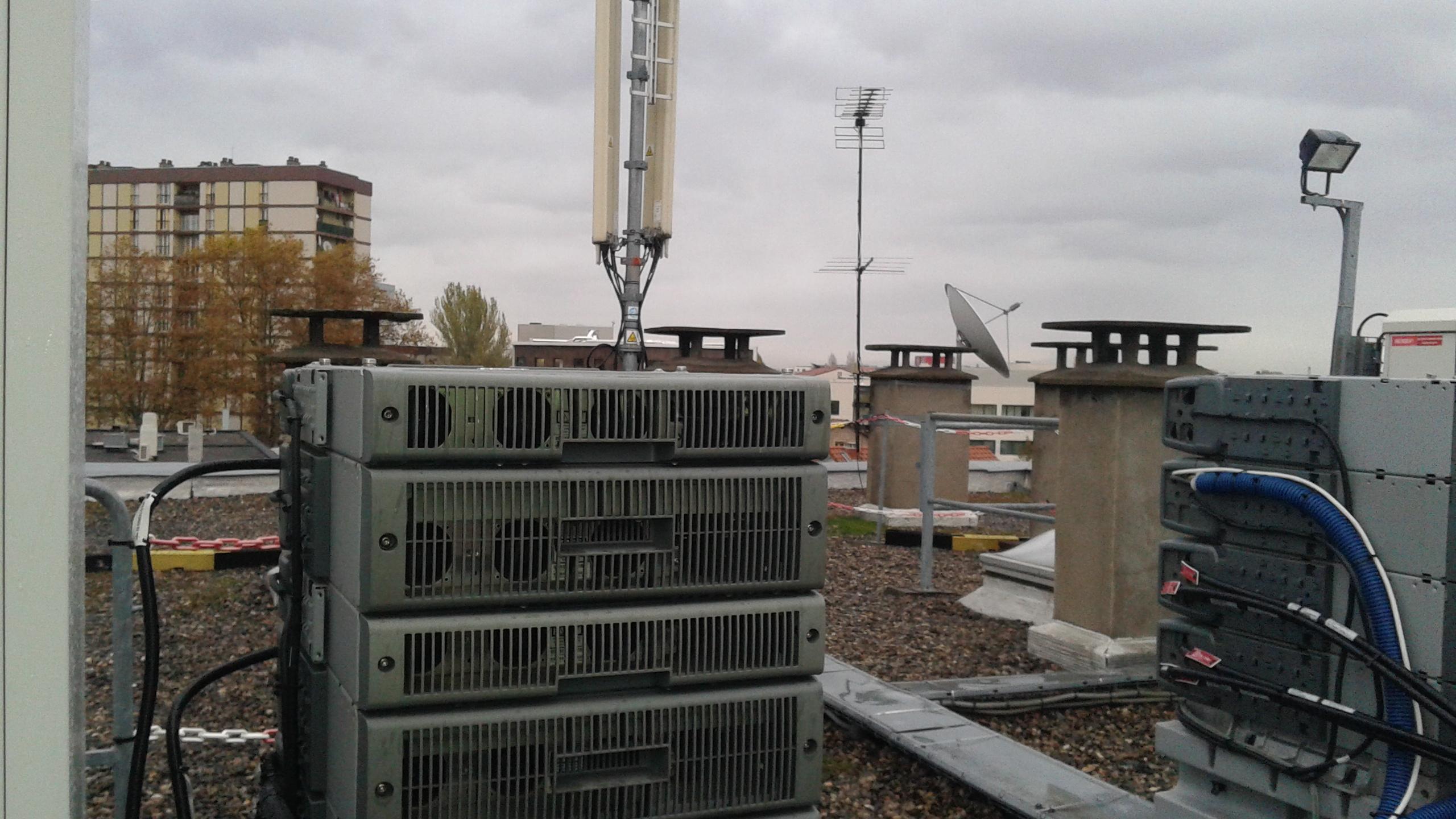 Antenne relais GSM