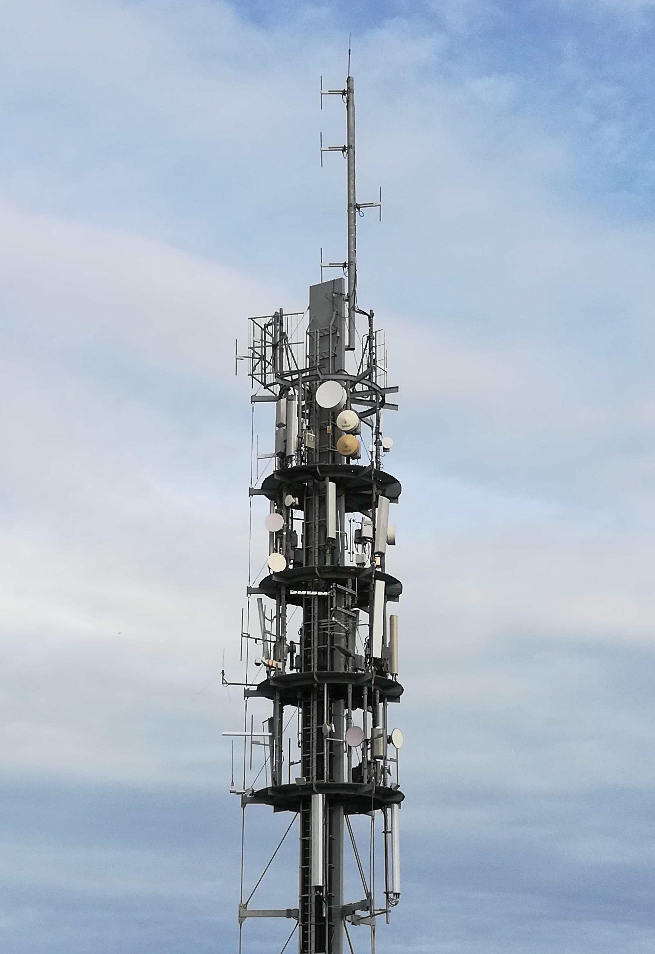 Antenne relais - 4G - TDF - Towercast - EDF - RMU-POCSAG